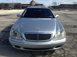 2002 Mercedes - Benz S - Class - - Silver - Black photo