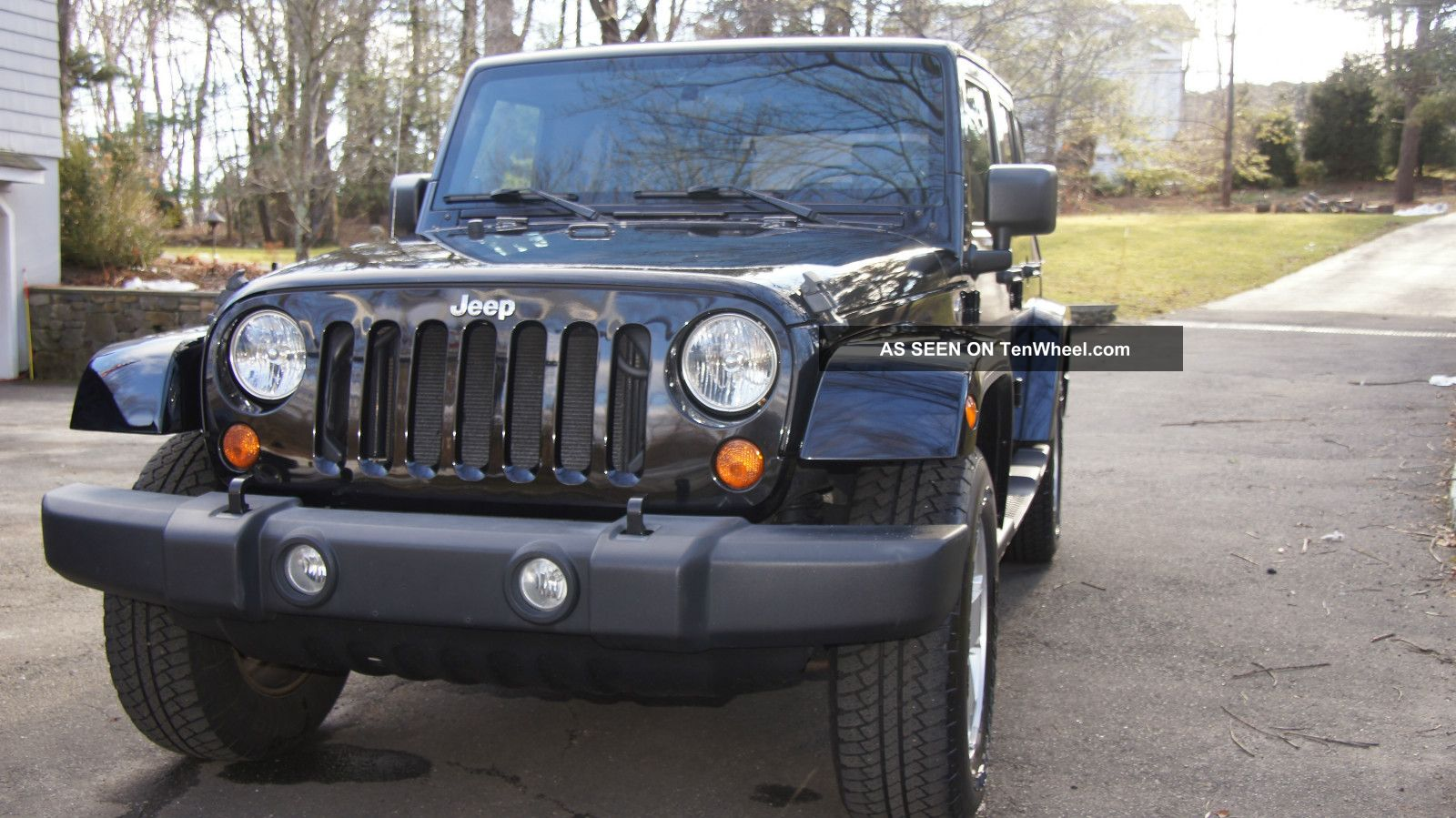 jeep wrangler unlimited sahara black