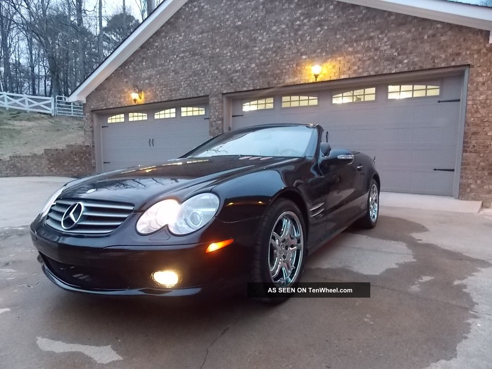 2003 mercedes benz sl500 convertible 2 door 5 0l custom wheels. Black Bedroom Furniture Sets. Home Design Ideas