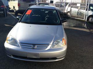 2003 Honda Civic Lx Sedan 4 - Door 1.  7l photo
