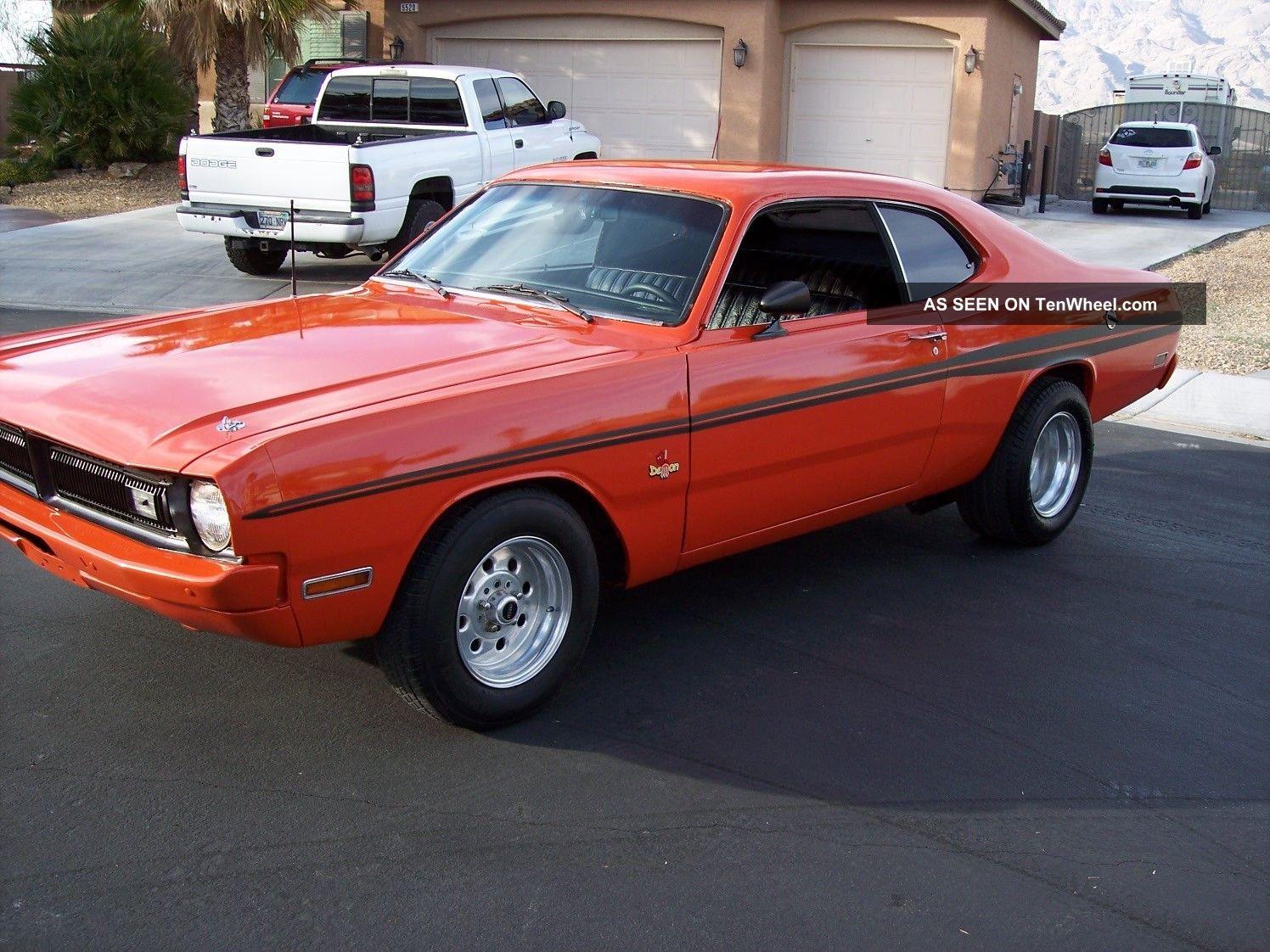 1971 Dodge Demon,  V8,  Manual Trans,  Paint,  Stripes, ,  Sweet Dart photo