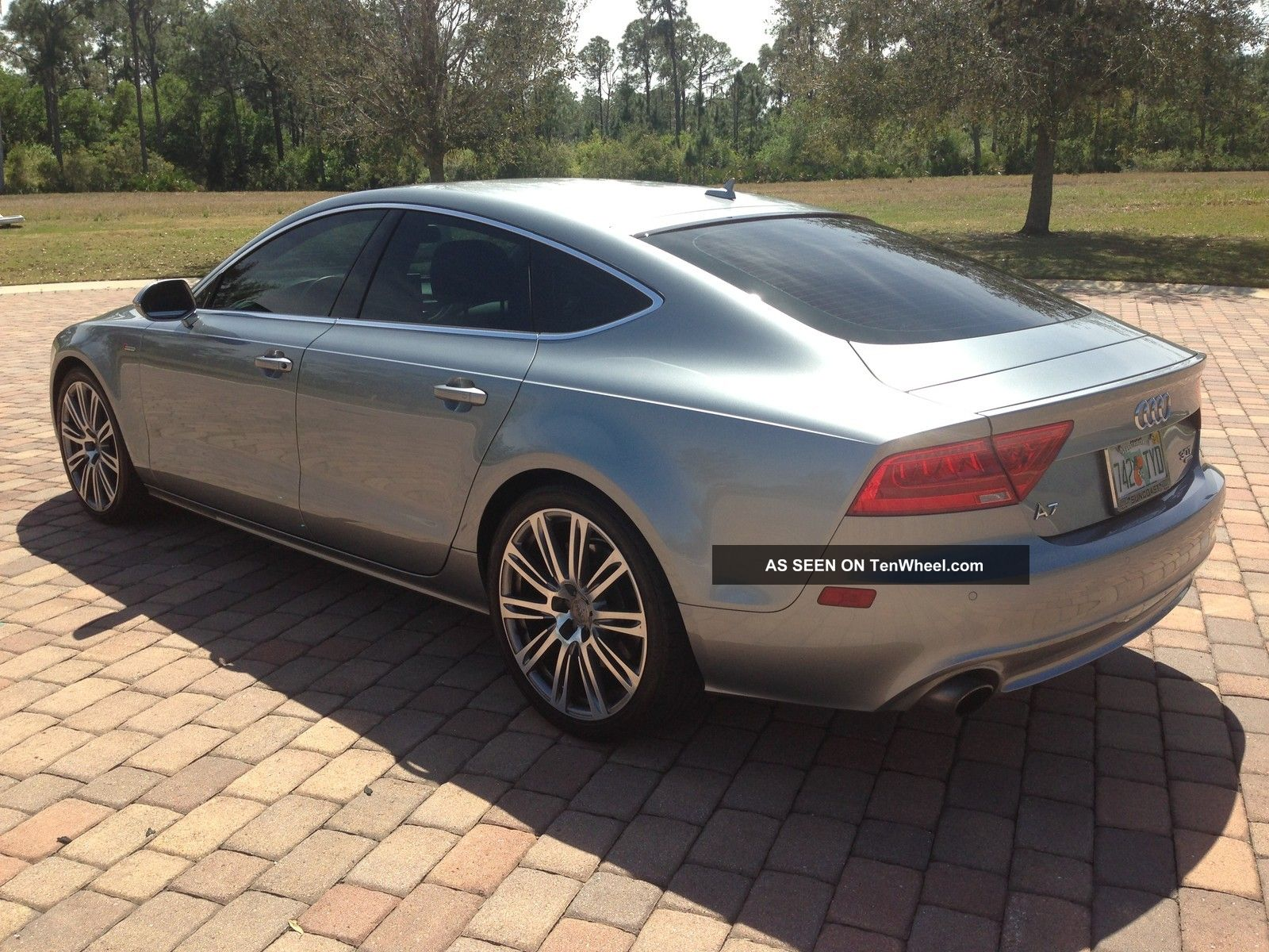2012 audi a7 supercharged