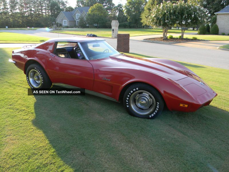1973 red corvette stingray big block survivor unmolested loaded with. Cars Review. Best American Auto & Cars Review