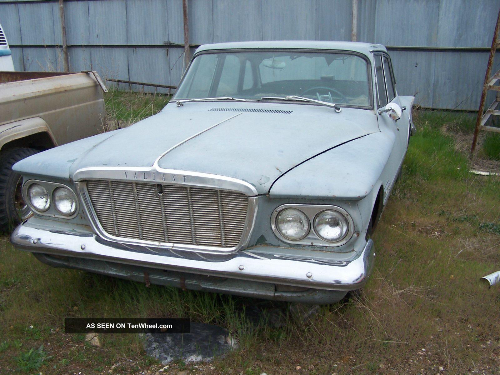 1962 Plymouth Valiant 200 2 8l