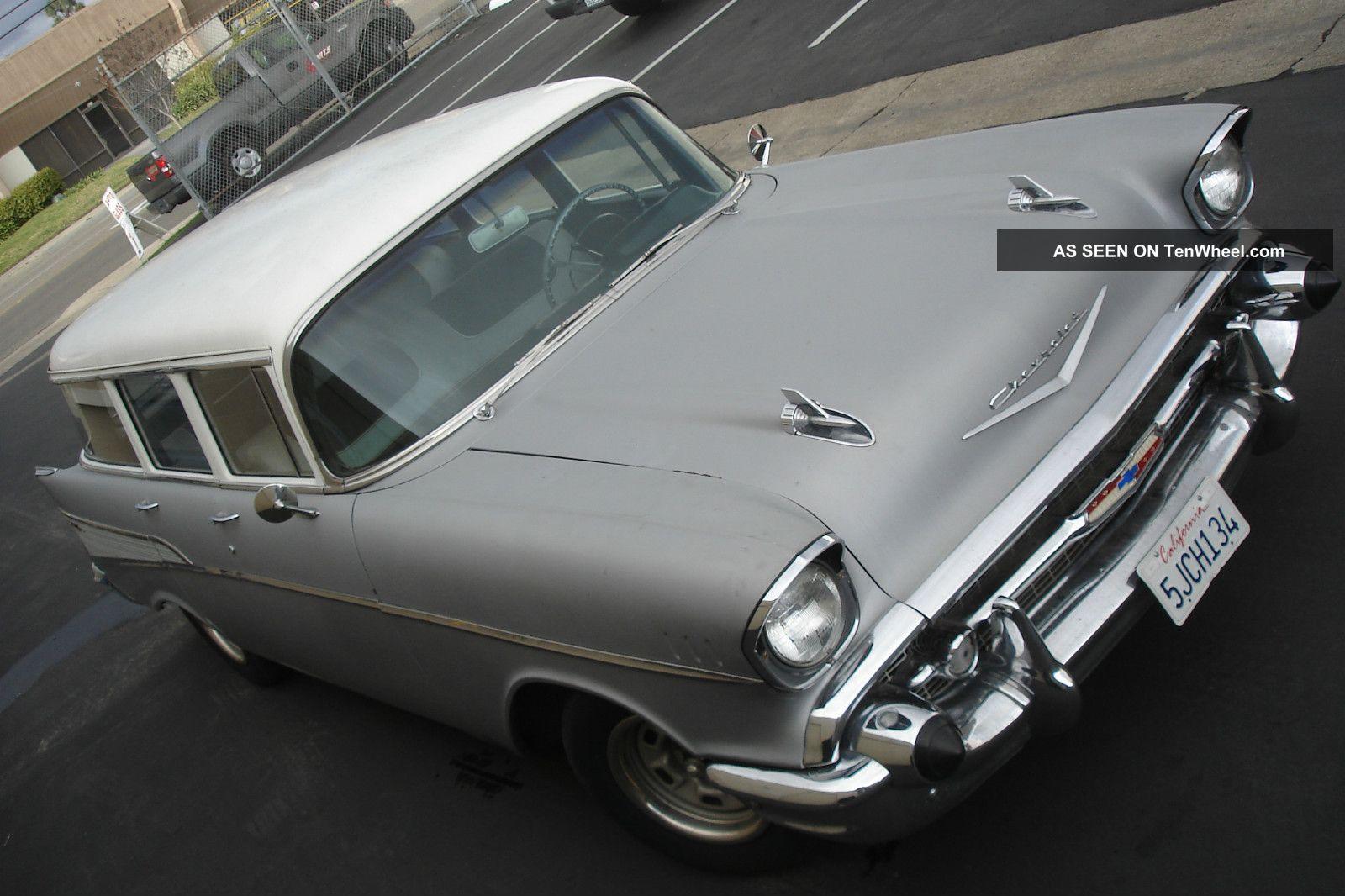 1957 Chevrolet 210 4 Door Station Wagon Straight Driver Bel Air/150/210 photo