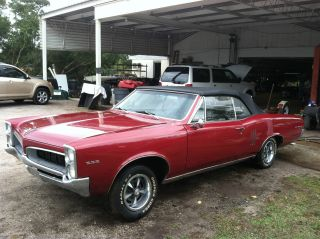 1967 Pontiac Lemans Convertible photo