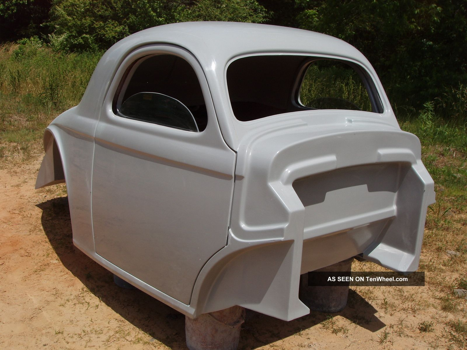 1941 Willys Coupe Rat Hot Street Rod Fiberglass Body Pro Street Willys photo