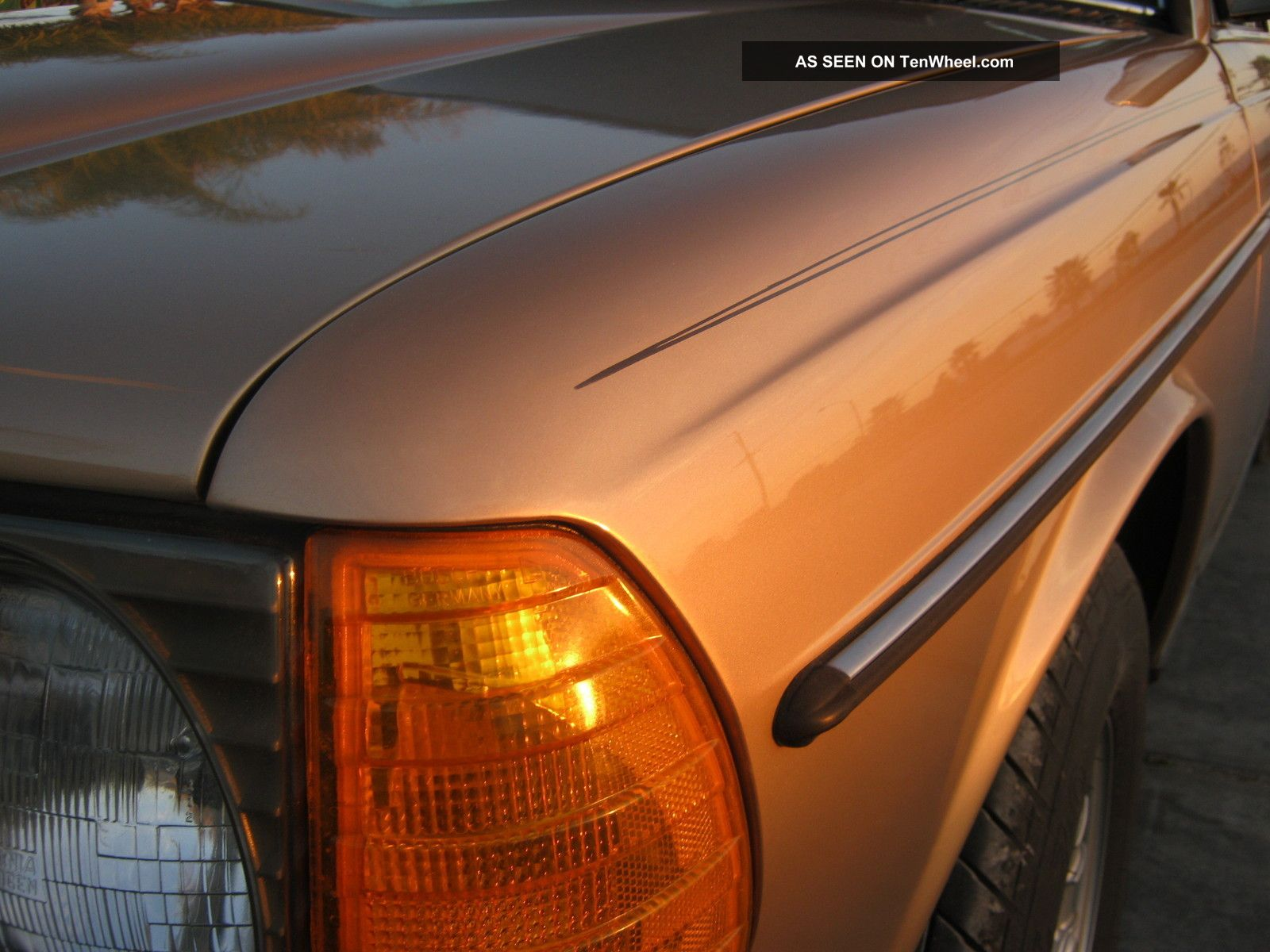 1985 300td Mercedes Turbo Diesel California Rust W123 300-Series photo