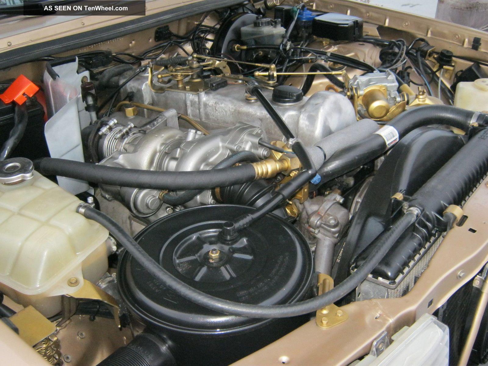 1985 300td Mercedes Turbo Diesel California Rust W123