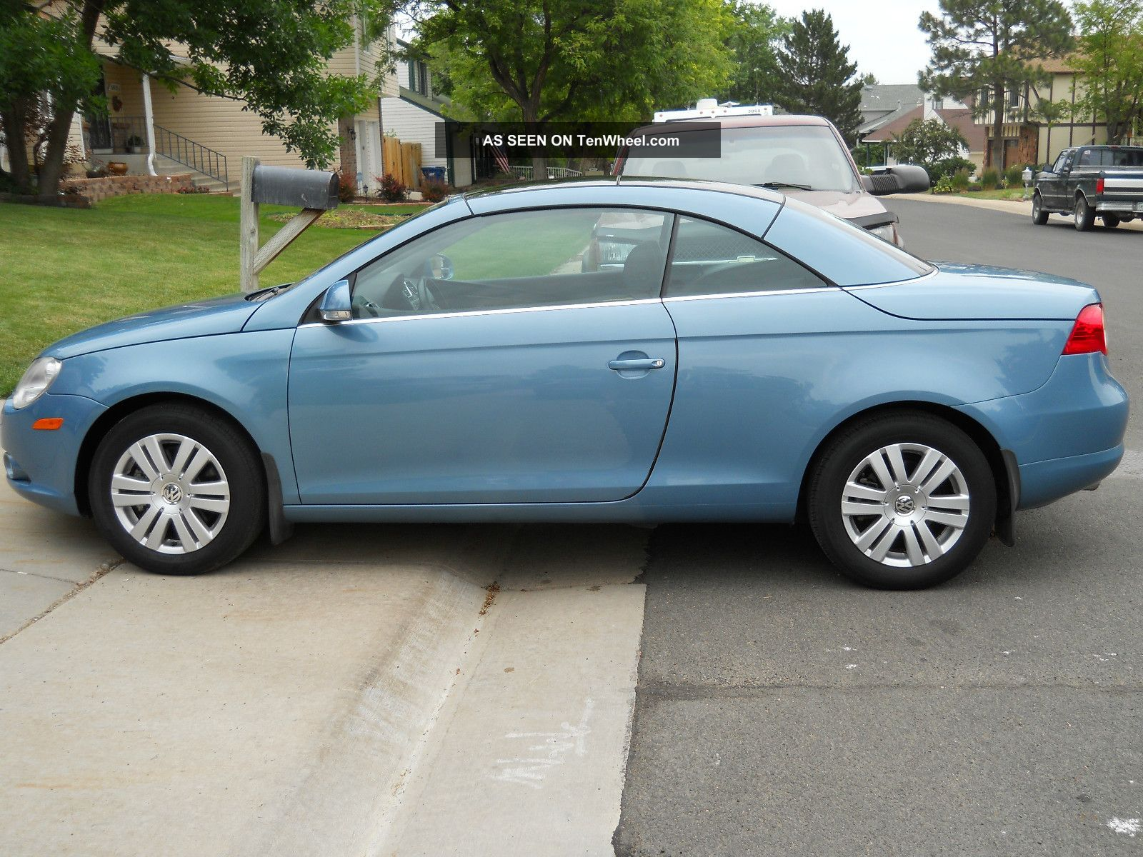 2008 Volkswagen Eos Turbo Convertible 2 Door 2 0l