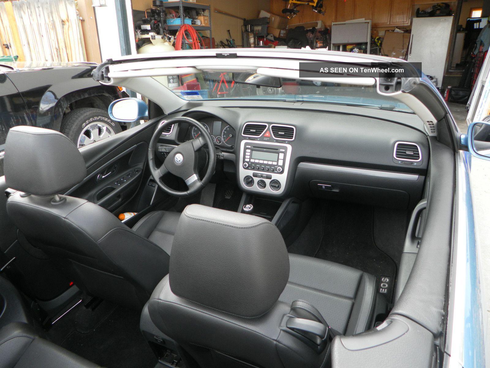 2008 Volkswagen Eos Turbo Convertible 2 Door 2 0l