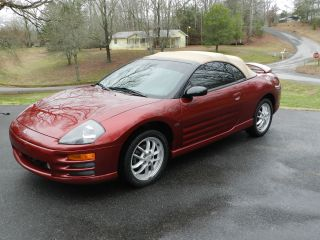 2002 Mitsubishi Eclipse Spyder Gt Convertible 2 - Door 3.  0l photo
