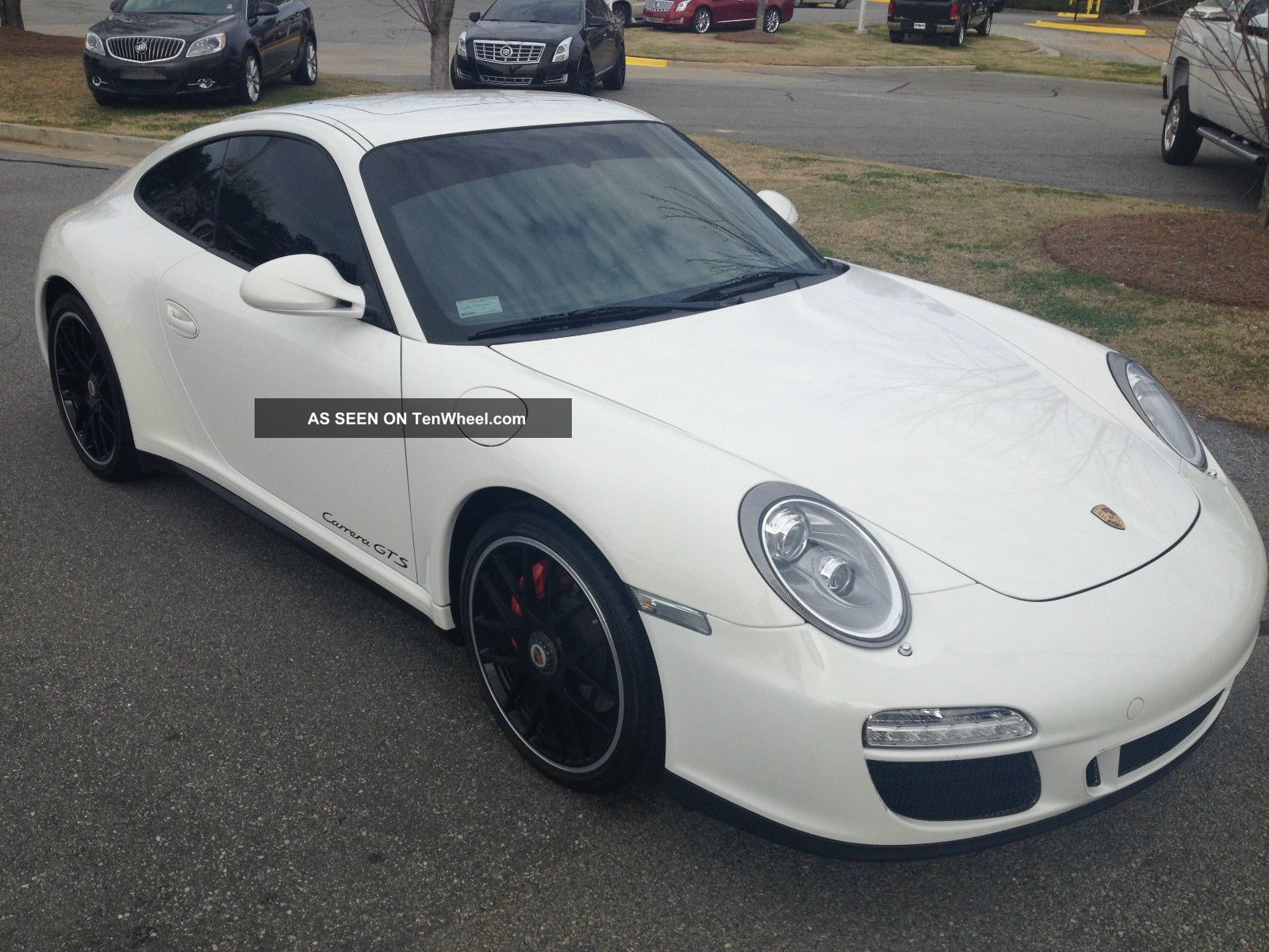 2012 Porsche Carrera Gts Sports Chrono Package Plus