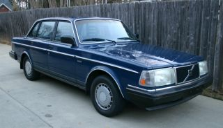Volvo 240 Dl 1986 photo