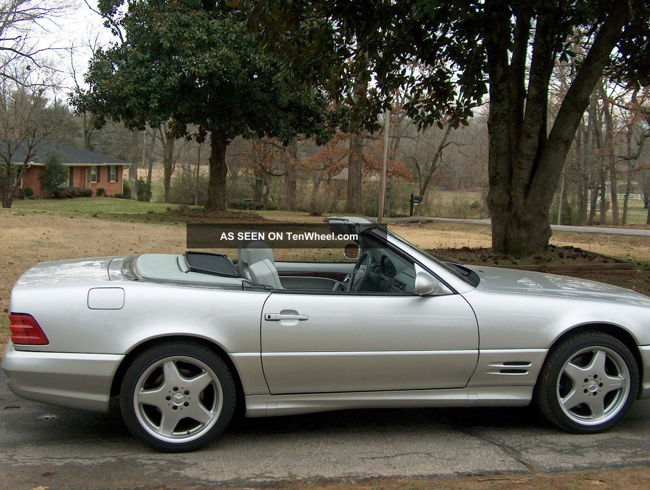 2002 mercedes benz sl500 roadster