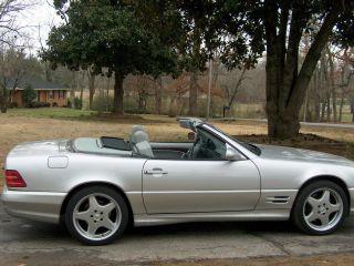 2002 Mercedes - Benz Sl500 Roadster photo