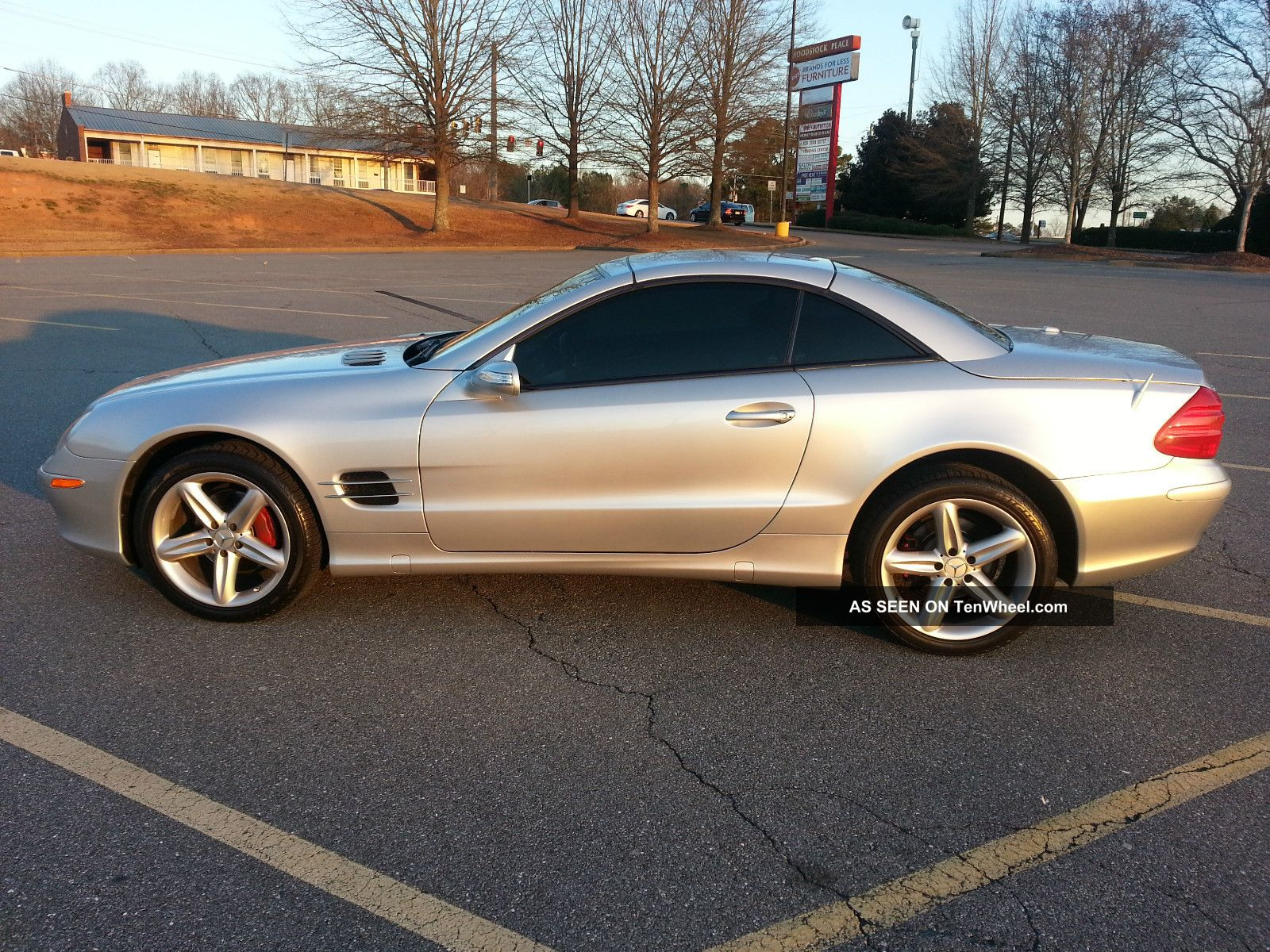 2006 Mercedes Benz Sl500 Convertible 2 Door 5 0l Roadster