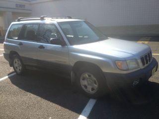 2002 Subaru Forester L Wagon 4 - Door 2.  5l photo