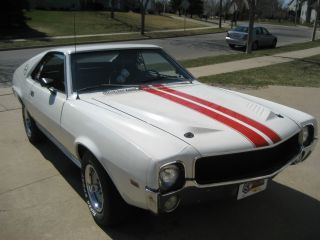 1969 Amc Amx Classic,  All Sheet Metal No Rust Anywhere 1 Of 840 Built. photo