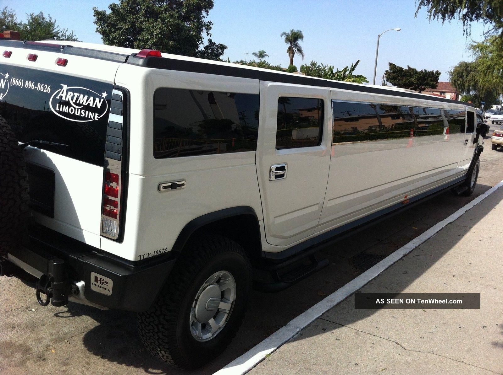 2008 hummer h2 limousine limo