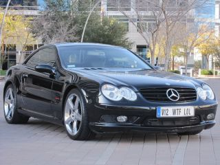 2004 Mercedes Benz Sl600 With - Black - Faster Then Sl55 Amg Or Sl500 photo