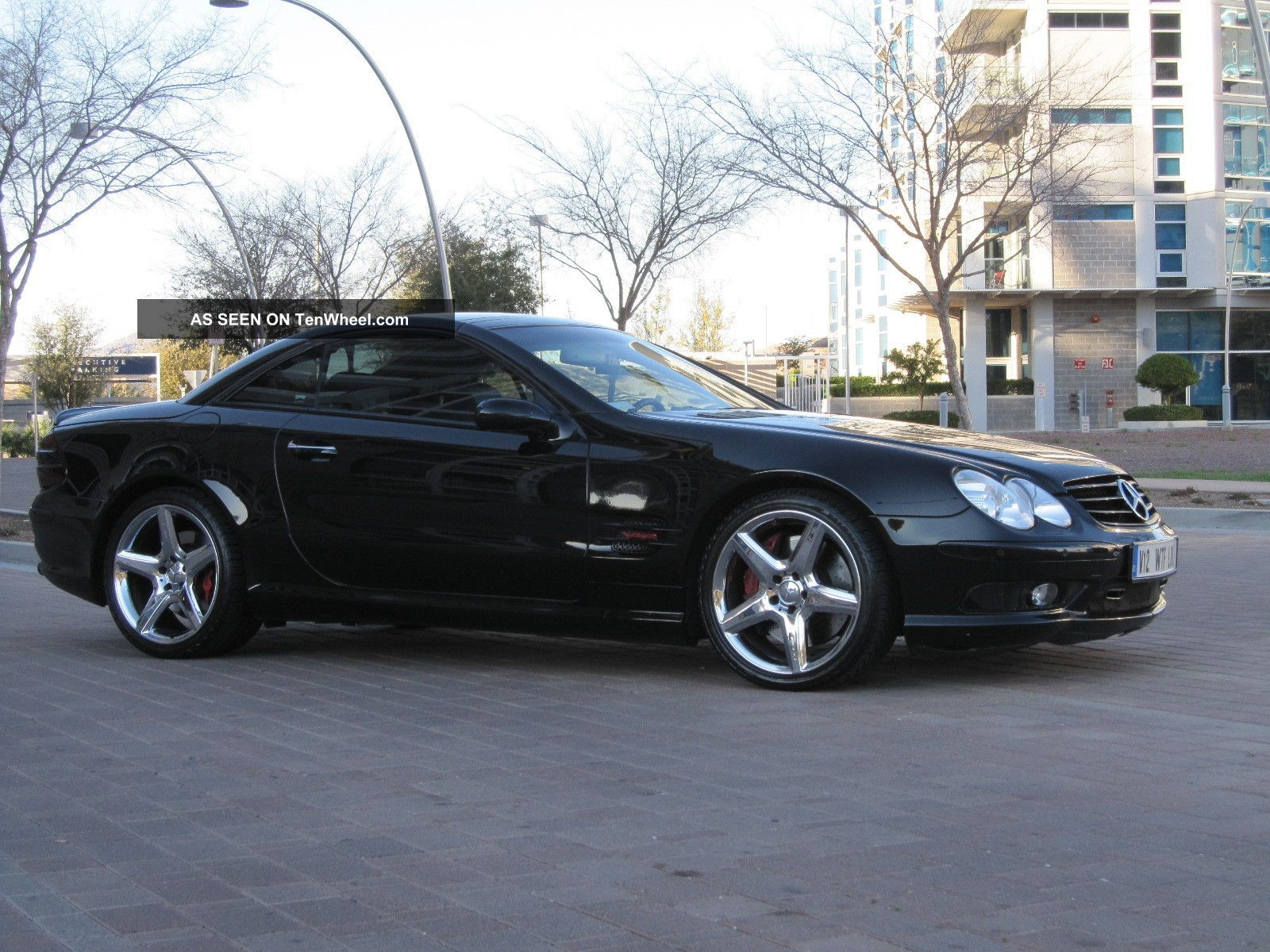 2004 mercedes benz sl600 with black faster then sl55. Black Bedroom Furniture Sets. Home Design Ideas