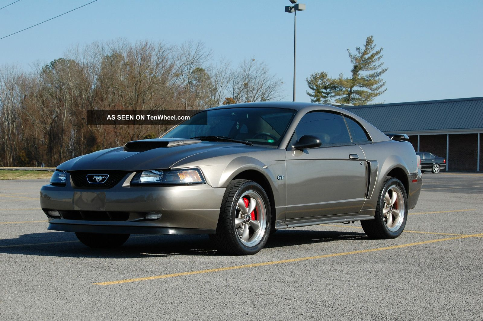 2002 Ford Mustang Gt Coupe 2 Door 4 6l