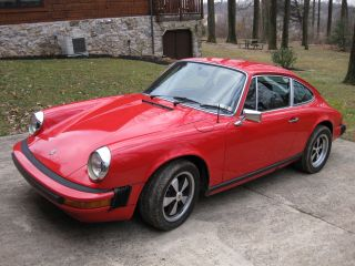 1976 Porsche 912e Rare Option Color Matching,  912e,  912,  912 E photo