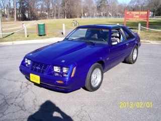 1984 Ford Mustang Gt,  5spd Trans,  8.  8 Posi Rear,  Stroker Motor,  T - Top Car photo