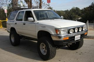 1993 Toyota 4runner Sr5 Sport Utility 4 - Door 3.  0l photo