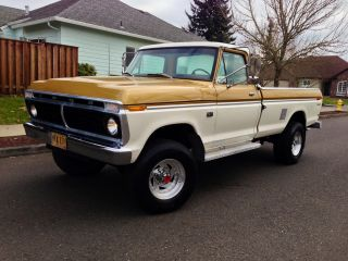 1973 Ford F250 4x4 Highboy Longbed 1974 1975 1976 1977 1978 1979 photo