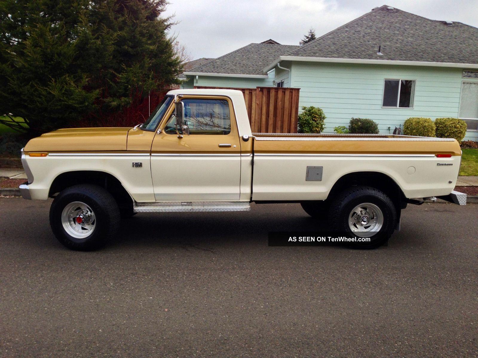 1973 ford f250 4x4 highboy longbed 1974 1975 1976 1977 1978 1979