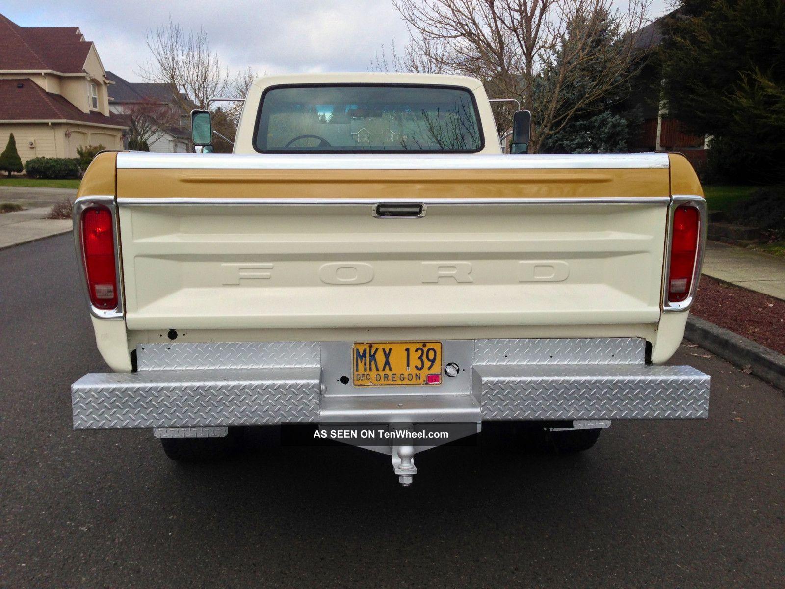 1973 Ford F250 4x4 Highboy Longbed 1974 1975 1976 1977 1978 1979 1955 F350