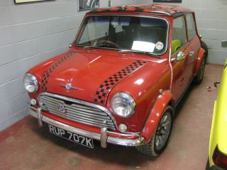 1972 Morris Mini Cooper S 1275 Rhd Right Hand Drive Quick Fun 72 Great Driver photo