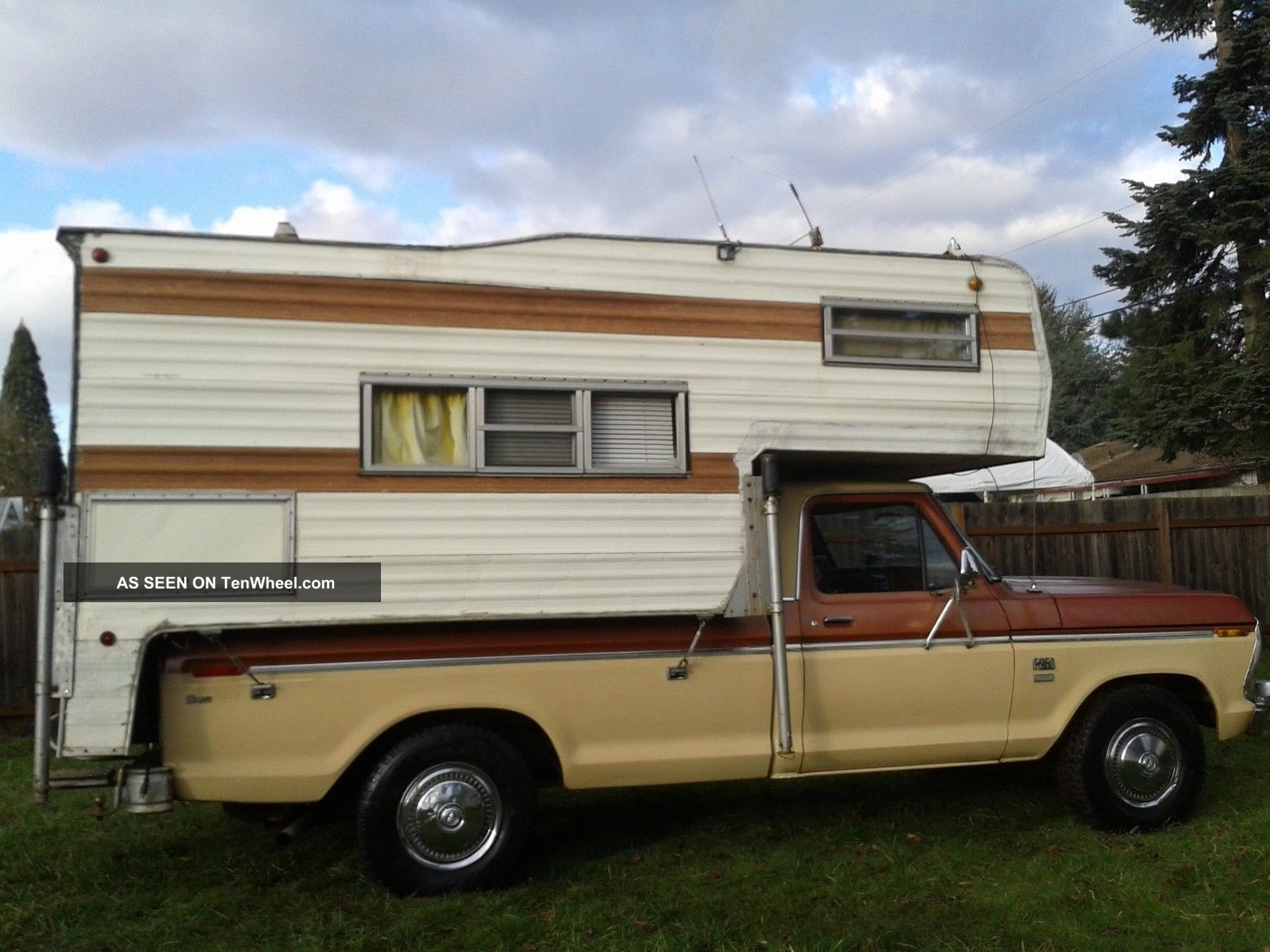 Ford Super Camper Special Craigslist Autos Post