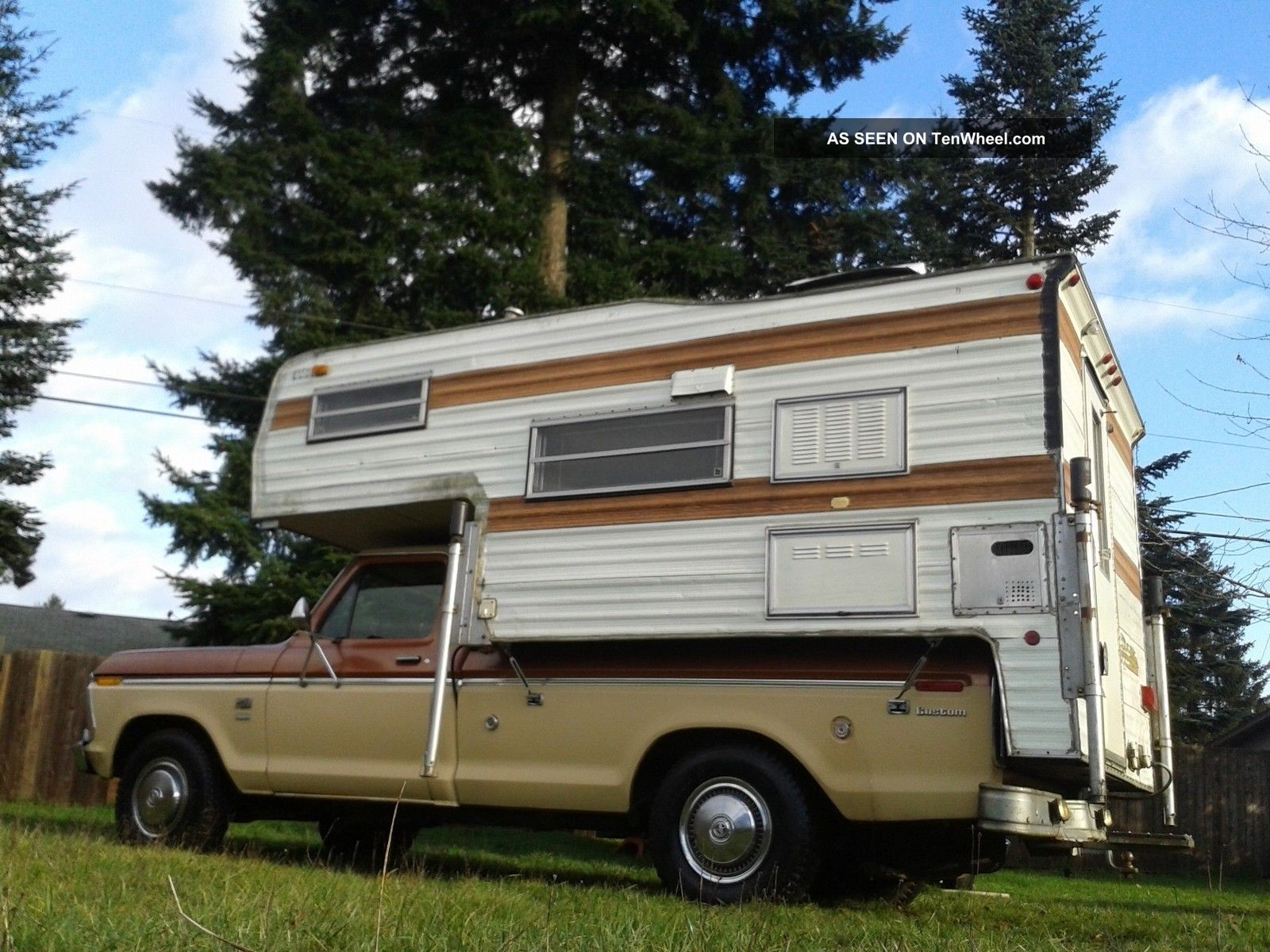 1976 Ford F250 Camper Special With The Custom Trim Package 1969 F 250