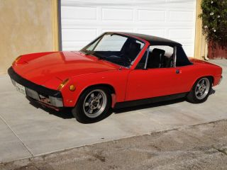 1973 Porsche 914 V8 350 Chevy With 500hp No Rust Real Sleeper Scariest Car Ever photo