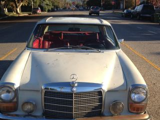 1971 Mercedes 250 C Coupe Californian Car Rare Classic photo