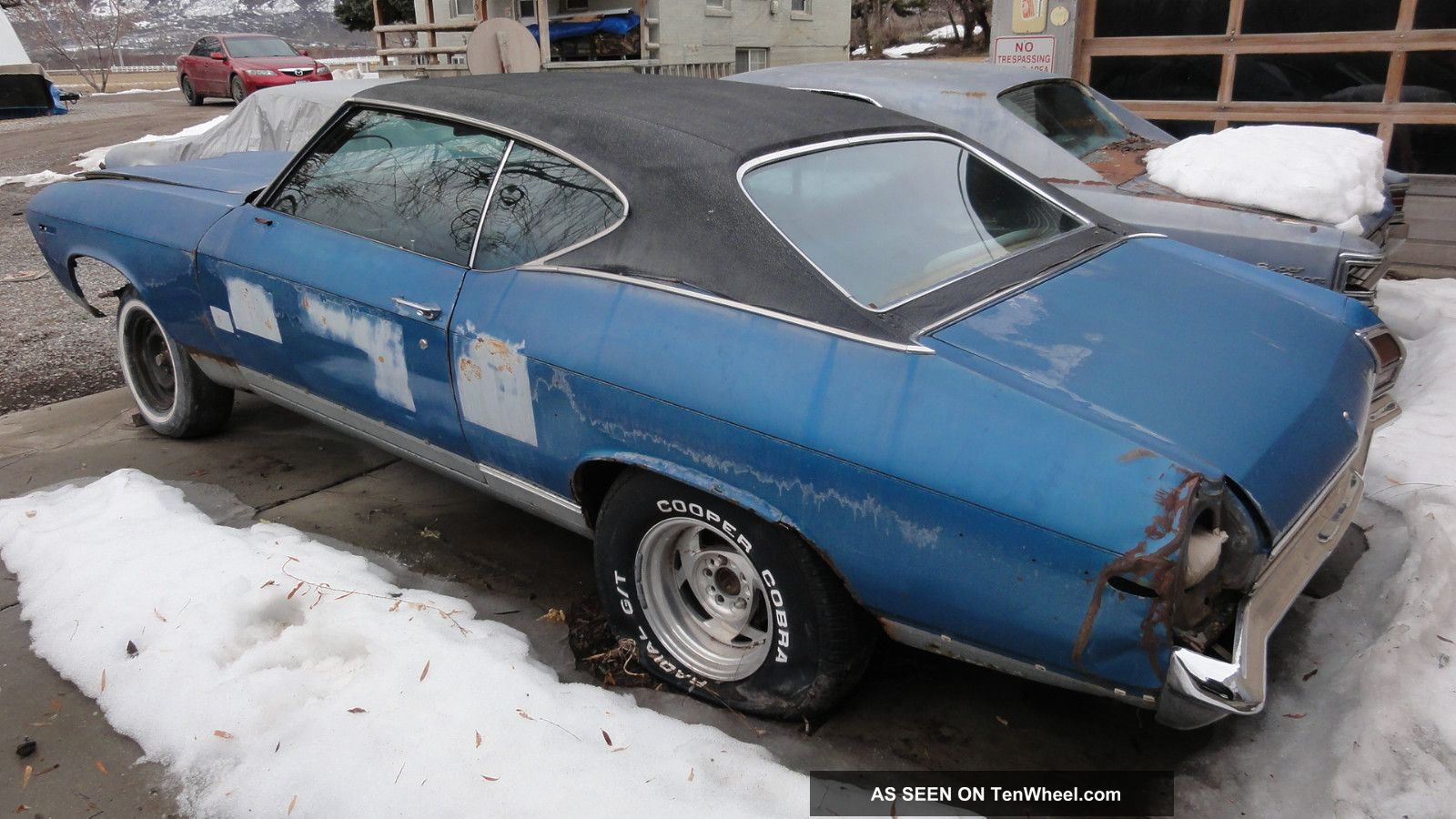 Builder 1969 Chevelle Malibu 2 Door Blue Solid 1968 1970