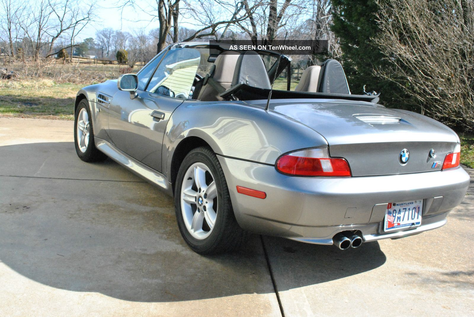 2001 bmw z3 roadster convertible 2 door 2 5l. Black Bedroom Furniture Sets. Home Design Ideas