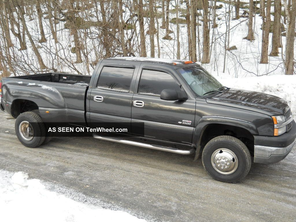 2003 Chevrolet 3500 Duramax Crew Cab Dually Silverado 3500 photo