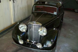 Jaguar Ss Mkiv Sports Saloon Barn Find Stored Since The 1960,  S photo