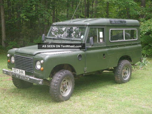 1980 Land Rover Defender 100 Inch Hybrid Restoriation - V8 4 Speed Defender photo