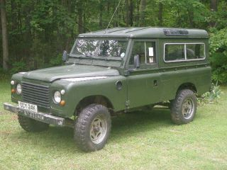 1980 Land Rover Defender 100 Inch Hybrid Restoriation - V8 4 Speed photo