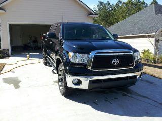 2012 Toyota Tundra Xsp - X Crew Max Pickup 4 - Door 5.  7l I - Force,  Black, photo