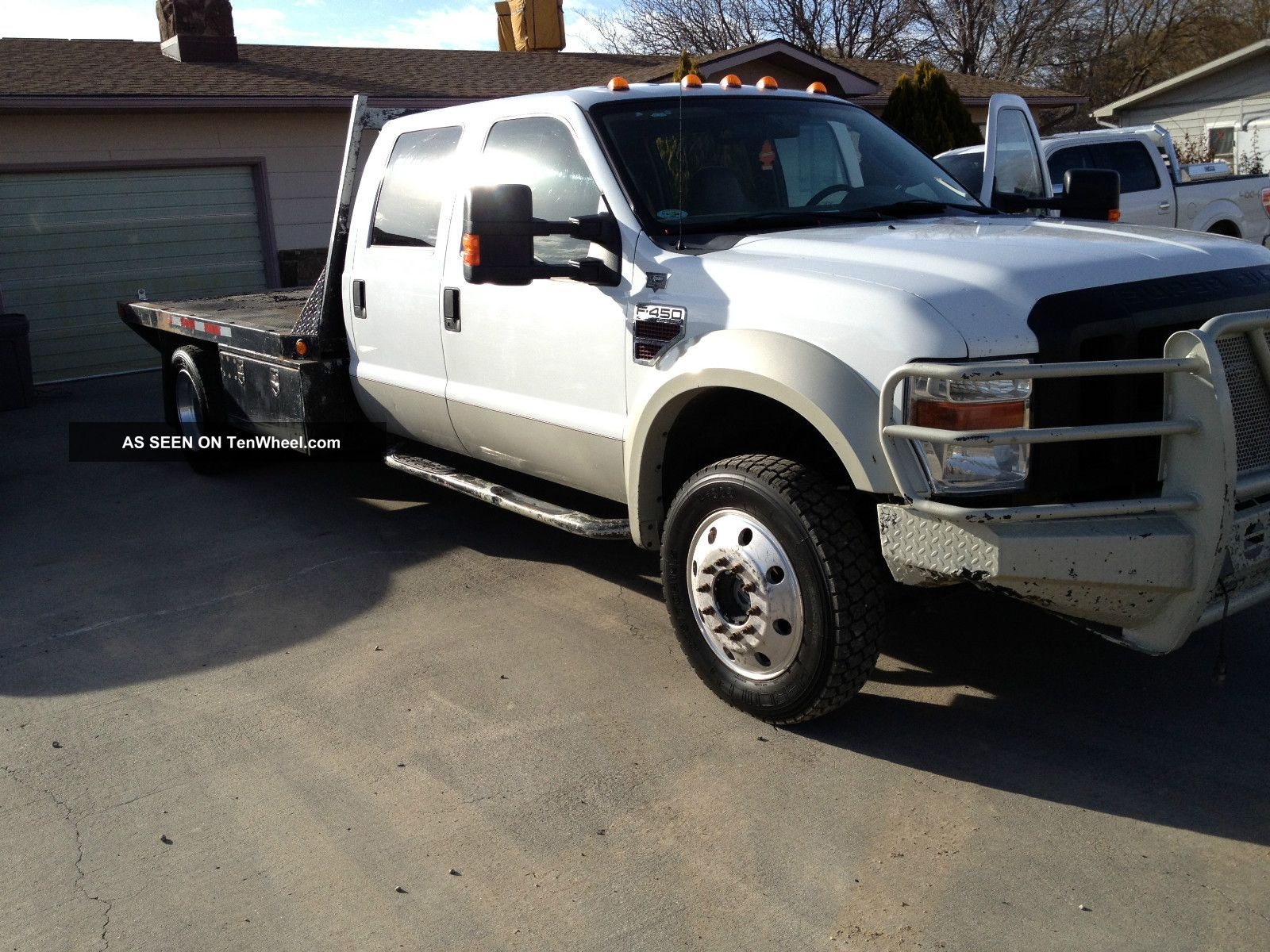, 2008 Ford F - 450 Flatbed F-450 photo