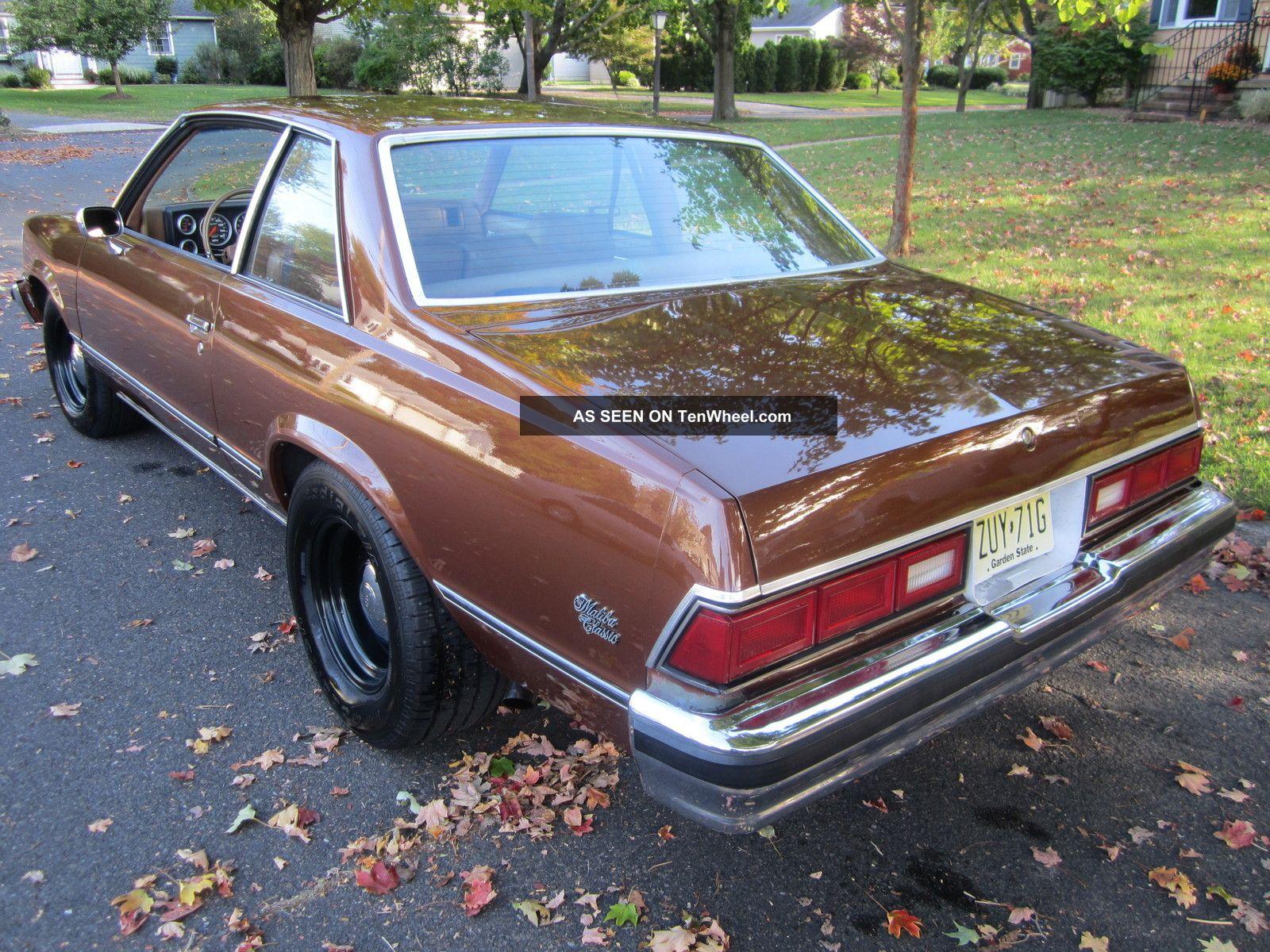 1978 Chevrolet Malibu Classic Coupe 2 Door 5 7l