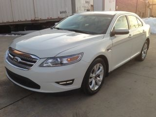 2011 Ford Taurus Sel Sedan 4 - Door 3.  5l 10 11 12 13 photo