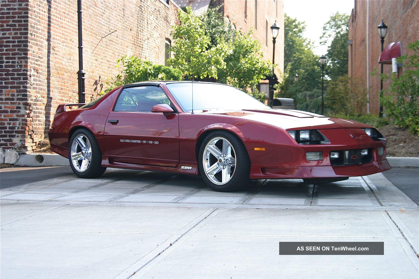 1991 Camaro Specifications | IROCZONE.COM | IROC-Z Forums ...