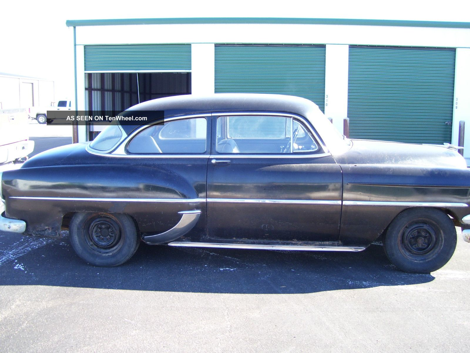 1954 chevy 2 door coupe
